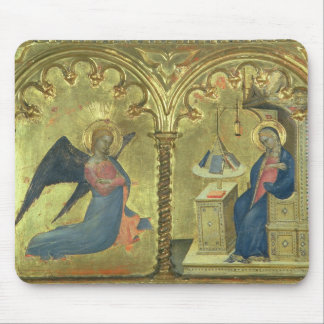 The Annunciation, detail from a polytych depicting Mouse Pad