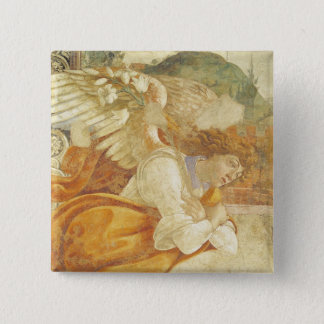 The Annunciation, detail of the Archangel Button