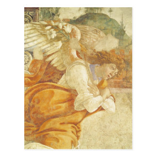 The Annunciation, detail of the Archangel Postcard