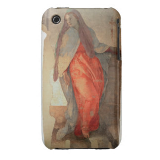 The Annunciation detail of the Virgin c 1527 fr iPhone 3 Case