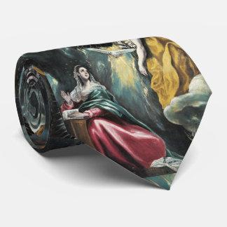The Annunciation El Greco Tie