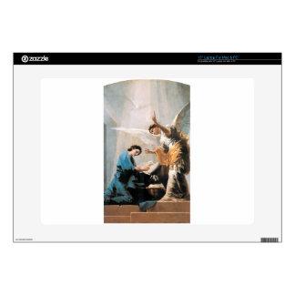 "The Annunciation, Francisco José de Goya, Fine Art 15"" Laptop Skin"