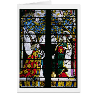 The Annunciation, from the Chapel of Jacques Coeur Greeting Card