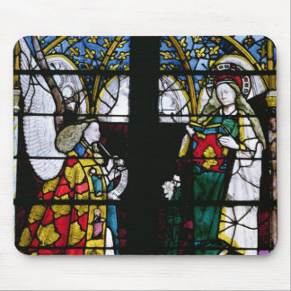 The Annunciation, from the Chapel of Jacques Coeur Mouse Pad