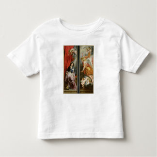 The Annunciation, from the reverse of the Shirt