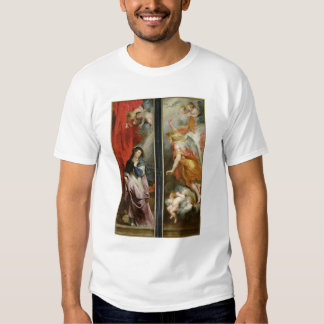 The Annunciation, from the reverse of the T Shirt