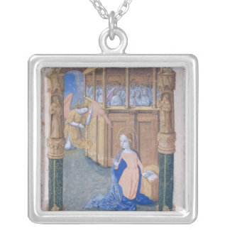 The Annunciation Square Pendant Necklace