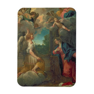 The Annunciation (oil on canvas) 2 Rectangle Magnets