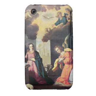 The Annunciation (oil on canvas) iPhone 3 Covers
