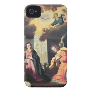 The Annunciation (oil on canvas) iPhone 4 Cover