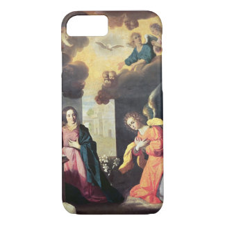 The Annunciation (oil on canvas) iPhone 8/7 Case