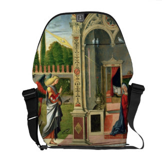 The Annunciation (oil on panel) 2 Courier Bag