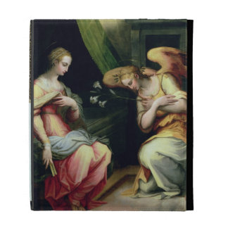 The Annunciation (oil on panel) 3 iPad Cases