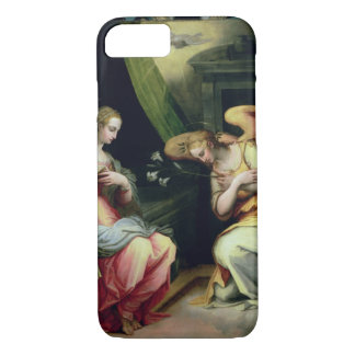 The Annunciation (oil on panel) 3 iPhone 8/7 Case