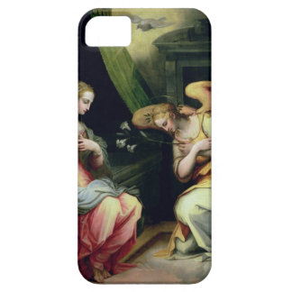 The Annunciation (oil on panel) 3 iPhone SE/5/5s Case