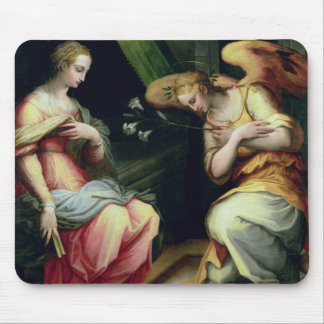 The Annunciation (oil on panel) 3 Mouse Pad