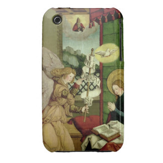 The Annunciation oil on panel iPhone 3 Cover