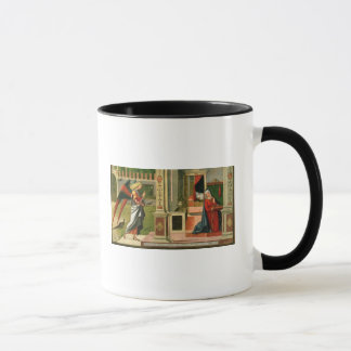 The Annunciation (oil on panel) (detail of 120955) Mug