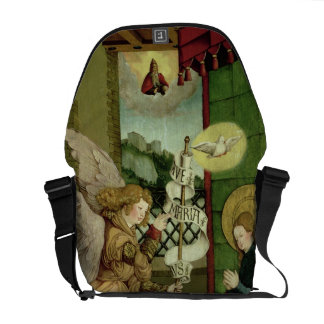 The Annunciation (oil on panel) Courier Bag