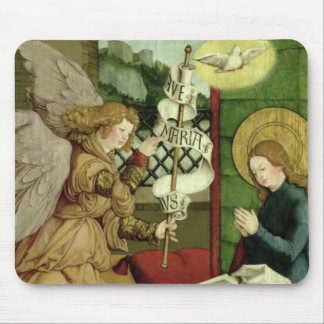The Annunciation (oil on panel) Mouse Pad