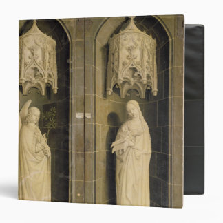 The Annunciation, outer panel from the Triptych Binder