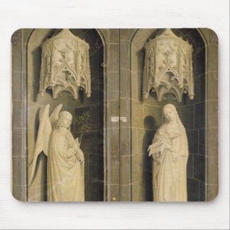 The Annunciation, outer panel from the Triptych Mouse Pad