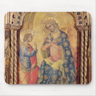 The Annunciation (part of polyptych) (oil on panel Mouse Pad