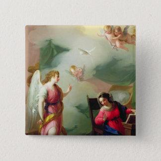 The Annunciation Pinback Button