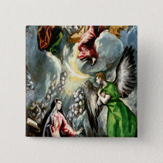 The Annunciation Pinback Button