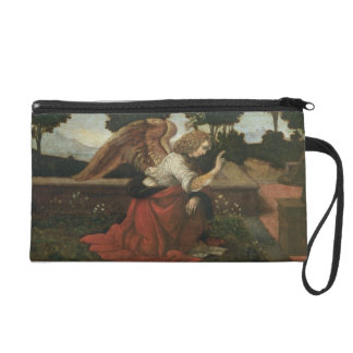 The Annunciation, predella panel from an altarpiec Wristlet Clutches