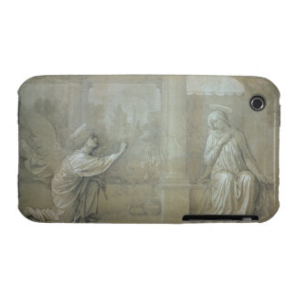 The Annunciation preparatory cartoon for the Capp Case-Mate iPhone 3 Cases