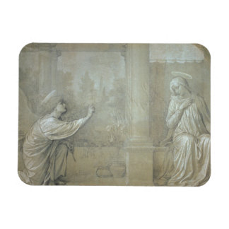 The Annunciation, preparatory cartoon for the Capp Flexible Magnets