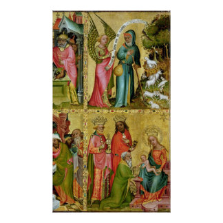 The Annunciation to St. Joachim Poster