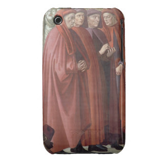 The Annunciation to St Zacharias fresco detail iPhone 3 Covers
