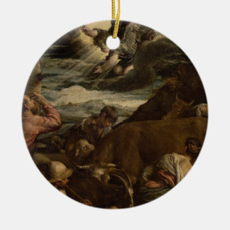 The Annunciation to the Shepherds, c.1557-8 Ceramic Ornament