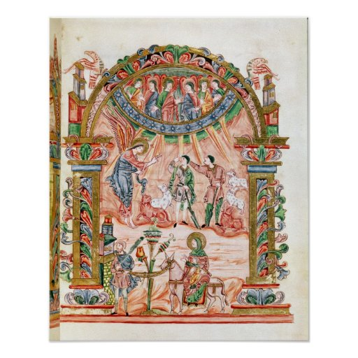 The Annunciation to the Shepherds Posters
