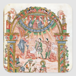 The Annunciation to the Shepherds Square Sticker