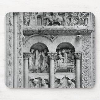 The Annunciation,Visitation, Adoration Magic Mouse Pad