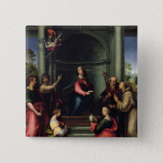 The Annunciation with Saints, 1515 Button