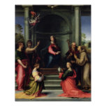 The Annunciation with Saints, 1515 Poster