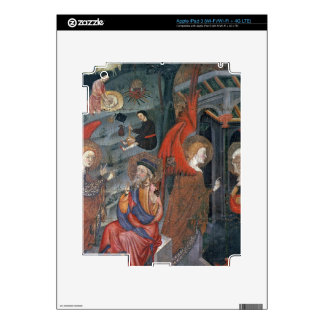 The Annunciation with Shepherds Making Cheese in t Decal For iPad 3