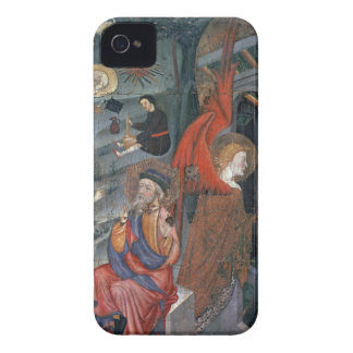 The Annunciation with Shepherds Making Cheese in t iPhone 4 Case