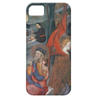 The Annunciation with Shepherds Making Cheese in t iPhone SE/5/5s Case