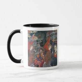 The Annunciation with Shepherds Making Cheese in t Mug