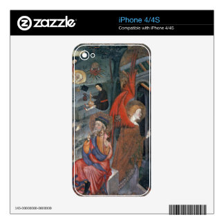 The Annunciation with Shepherds Making Cheese in t iPhone 4 Decals