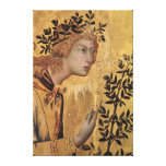 The Annunciation with St. Margaret Stretched Canvas Prints
