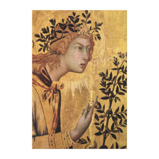 The Annunciation with St. Margaret Canvas Print