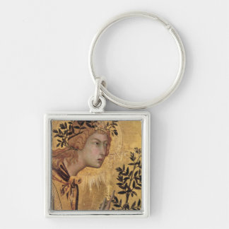 The Annunciation with St. Margaret Keychain