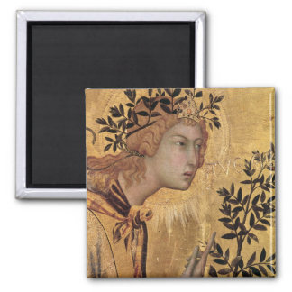 The Annunciation with St. Margaret Fridge Magnets
