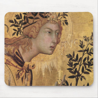 The Annunciation with St. Margaret Mouse Pad